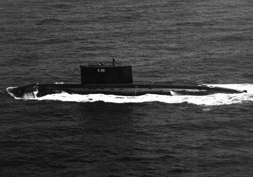 Hải quân Myanmar vừa nhập biên tàu ngầm Kilo đầu tiên của lực lượng này. Đây là tàu ngầm đã qua sử dụng, được Myanmar mua từ Ấn Độ. Nguồn ảnh: Pinterest.