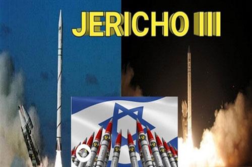 Irsael đã sở hữu tên lửa đạn đạo liên lục địa Jericho 3, được cho là có tầm phóng trên 6500km