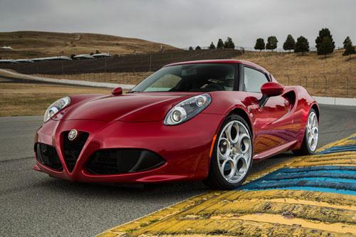 9. Alfa Romeo 4C 2020.