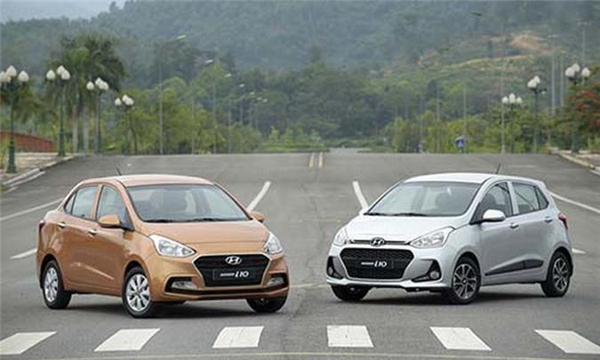 Xe oto Hyundai bat ngo giam gia toi 40 trieu tai Viet Nam