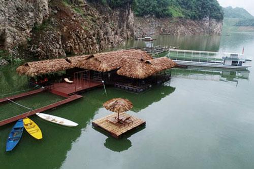Mô hình phát triển du lịch tại lòng hồ Thủy điện Sơn La của HTX Du lịch sinh thái Quỳnh Nhai