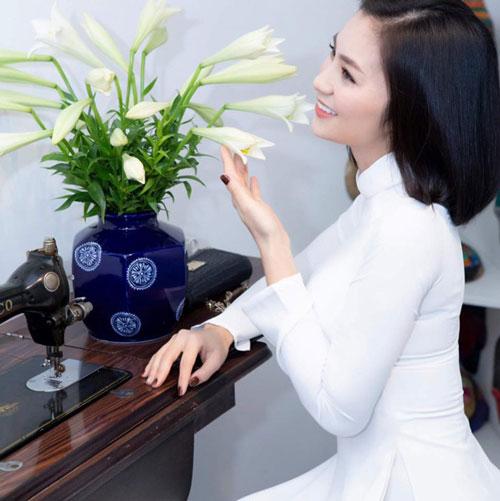 """Diệu Hương gây ấn tượng với vai San trong """"Hoa hồng trên ngực trái""""."""