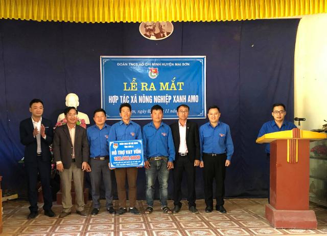 HTX Nông nghiệp xanh AMO luôn nhận được sự quan tâm hỗ trợ của các cấp, ngành, đơn vị trong tỉnh Sơn La