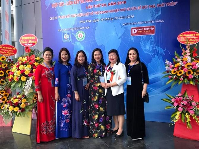 Các nữ doanh nhân tham dự Diễn đàn.
