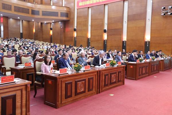 Hơn 450 đại biểu tham dự Diễn đàn Hợp tác - Liên kết phát triển doanh nghiệp khu vực phía Bắc lần thứ 12.
