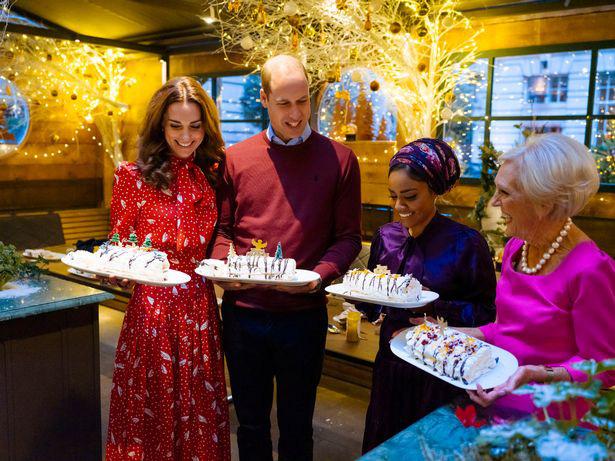 Vợ chồng Công nương Kate rạng rỡ, ấm áp và hạnh phúc trên truyền hình.