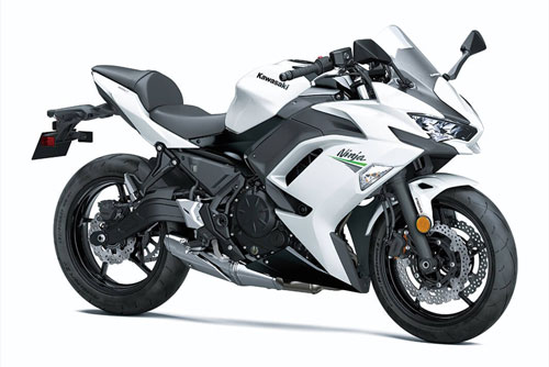 5. Kawasaki Ninja 650 2020.