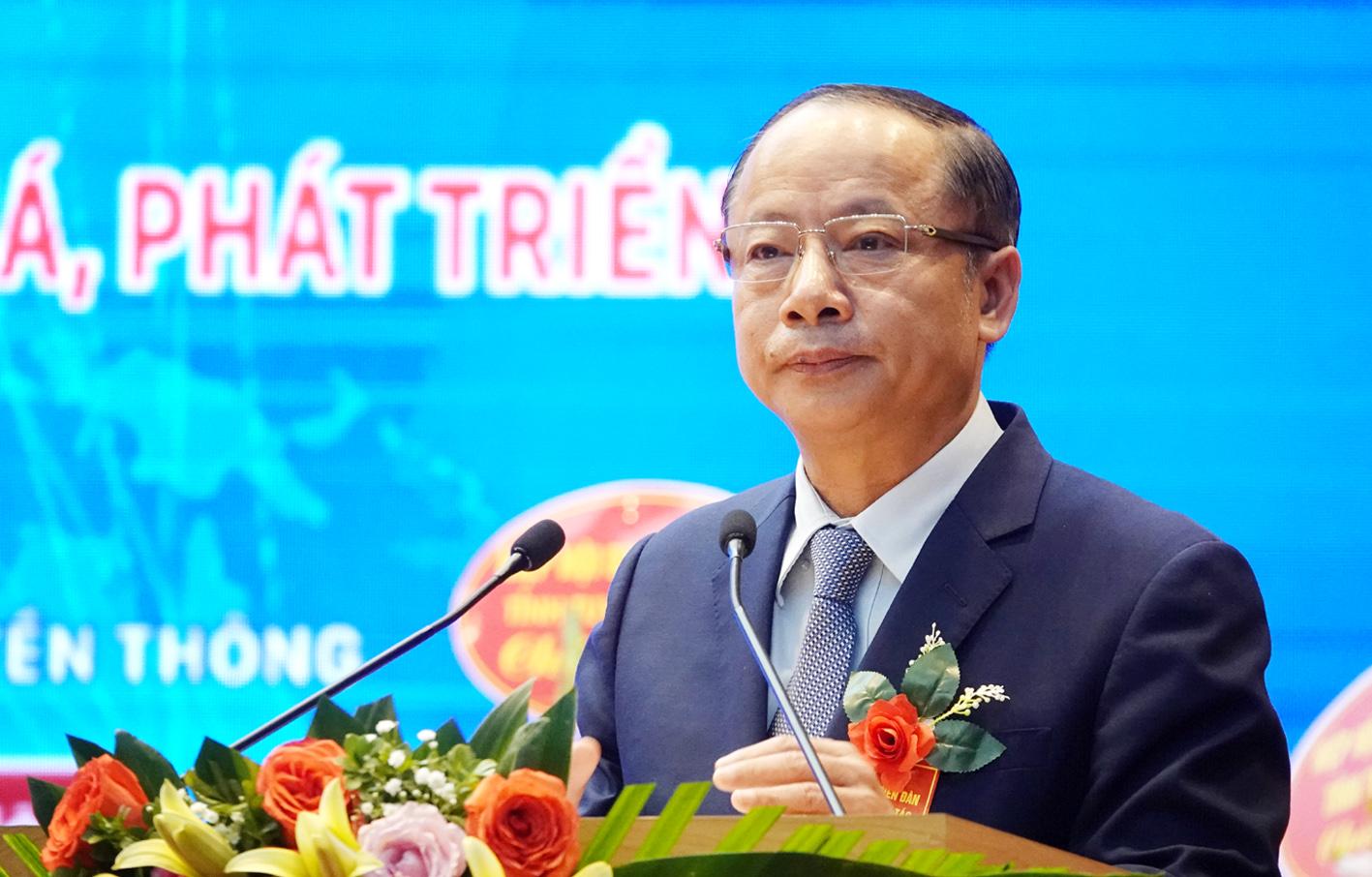 Chủ tịch VINASME Nguyễn Văn Thân phát biểu khai mạc tại Diễn đàn.