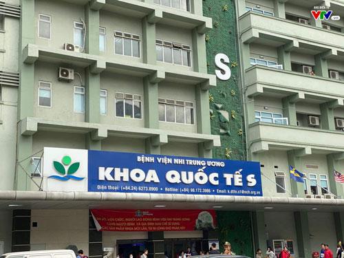 Bệnh viện Nhi Trung ương.