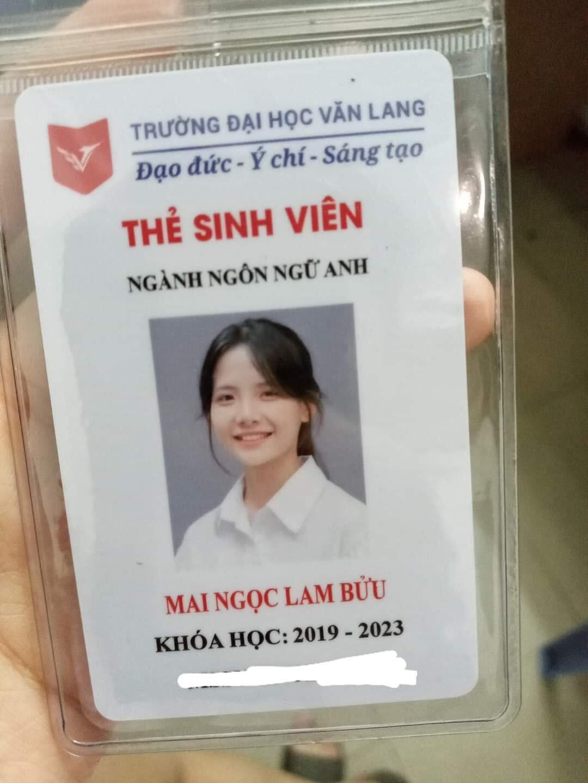 """Mới đây, trên diễn đàn """"Hội những người thích ngắm gái Châu Á"""" đăng tải một chiếc thẻ sinh viên của một cô nàng có tên Mai Ngọc Lam Bửu. Tấm ảnh thẻ xinh tới nỗi cô được cộng đồng mạng gọi với cái tên """" hot girl ảnh thẻ"""" thế hệ mới."""