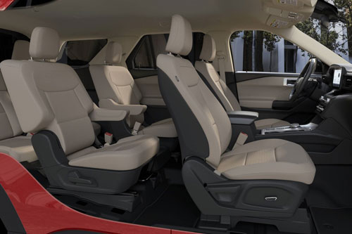 4. Ford Explorer ST 2020.