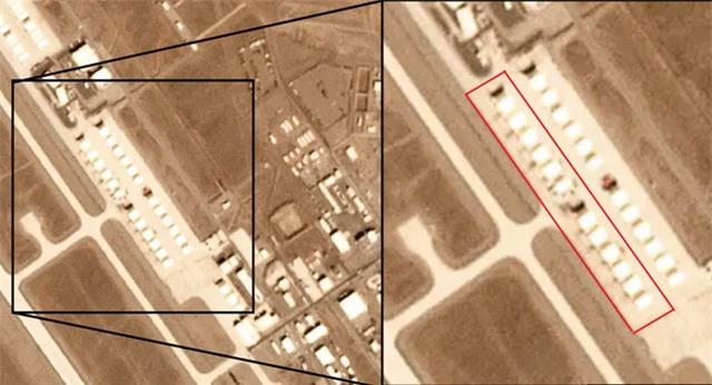 Ảnh vệ tinh tiết lộ 12 máy bay lạ tại căn cứ tuyệt mật của Mỹ - 1