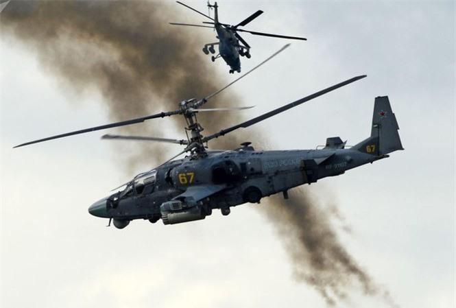 Truc thang Ka-52 Alligator Nga duoi danh may bay My tren bau troi Syria?-Hinh-6