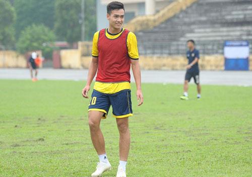 Việt Anh trưởng thành từ lò đạo tạo của Hà Nội FC.