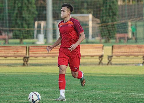 Chàng cầu thủ 9x này hiện đang thi đấu cho CLB Hồng Lĩnh Hà Tĩnh.