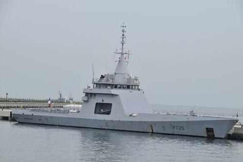 Trong biên chế Hải quân Pháp hiện tại có các tàu tuần tra L'Adroit cực kỳ đặc biệt. Đây là tàu tuần tra được Pháp cải biên từ lớp tàu Gowind và L'Adroit được sử dụng chuyên cho nhiệm vụ bảo đảm an ninh trên biển. Nguồn ảnh: DCNS.