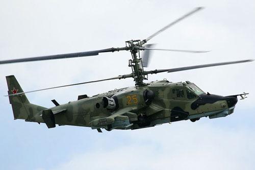 Trang Avia của Nga cho biết, một trực thăng vũ trang Ka-52 Alligator của lực lượng không quân - vũ trụ nước này đã cất cánh để ngăn chặn một máy bay không người lái vũ trang (UCAV) của Mỹ trên bầu trời Syria.