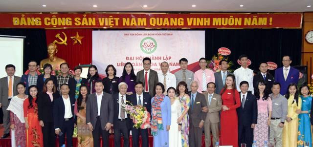 Ban chấp hành liên đoàn Yoga Việt Nam khóa I