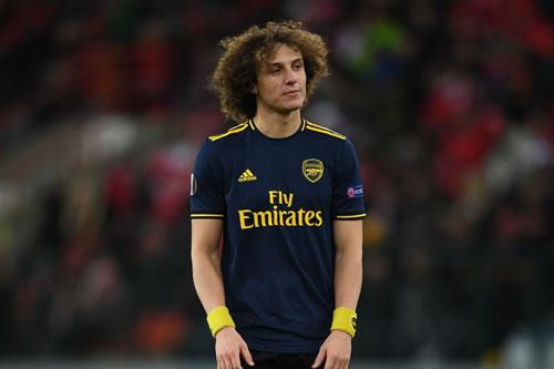 7. David Luiz (Arsenal).