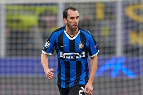 9. Diego Godin (Inter Milan).