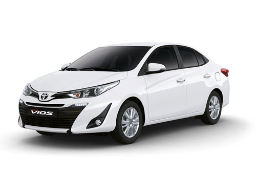 Toyota Vios (doanh số: 23.998 chiếc).