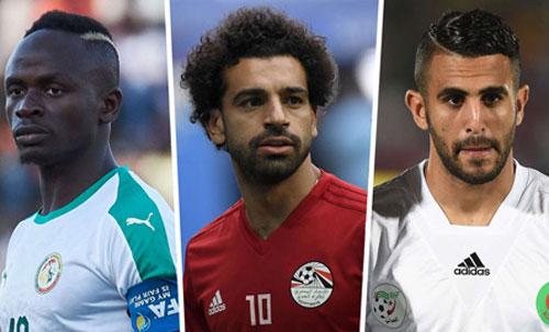 Mane, Salah và Mahrez