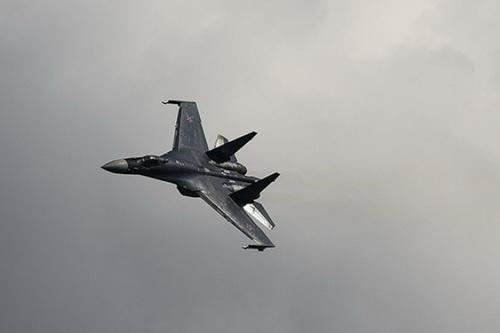 Tiêm kích đa năng thế hệ 4,5 Su-35S của Không quân Nga. Ảnh: RIA Novosti.