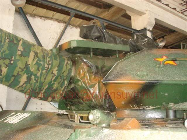 Anh hiem: Sieu tang T-54 Viet Nam dung co nong 105mm dat do trong qua khu-Hinh-2