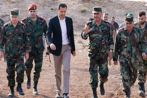 Tổng thống Assad lần đầu tiên đến mặt trận Idlib 22/10/2019