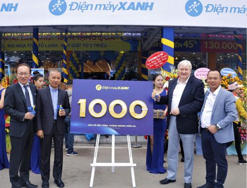 Ngày 20/12 vừa qua, Điện Máy Xanh chính thức khai trương cửa hàng thứ 1000 tại Quảng Ninh.