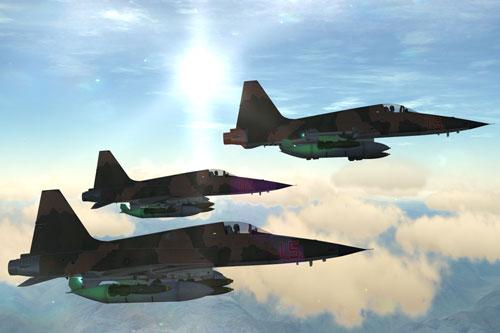 Rõ ràng với việc mua lại những chiến đấu cơ F-5E cũ để dùng cho việc huấn luyện đối kháng, những phi công Mỹ sẽ có những kỹ năng chiến đấu đỉnh cao. Điều này khiến Nga và Trung Quốc lo ngại nếu phi công họ phải đối đầu với những phi công có kỹ năng chiến đấu đỉnh cao của đối phương.