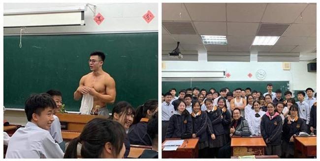 Họ sinh ôm tim hò hét vì thầy giáo đẹp trai như diễn viên điện ảnh, thân hình hoàn mỹ không khác gì tượng điêu khắc - Ảnh 3.