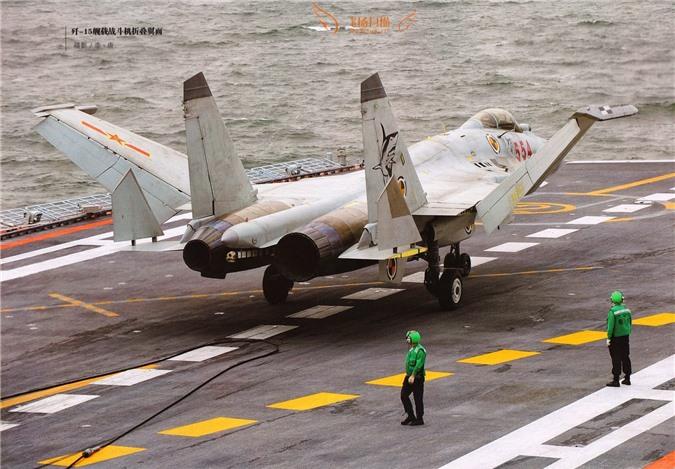 Voi tiem kich J-15, tau san bay cua Trung Quoc chi la