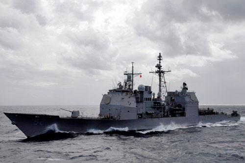 Mỹ hiện tại là một trong những quốc gia sử dụng tuần dương hạm nhiều nhất thế giới. Loại tuần dương hạm duy nhất hiện đang được Hải quân Mỹ sử dụng đó là tuần dương hạm lớp Ticonderoga. Nguồn ảnh: QQ.