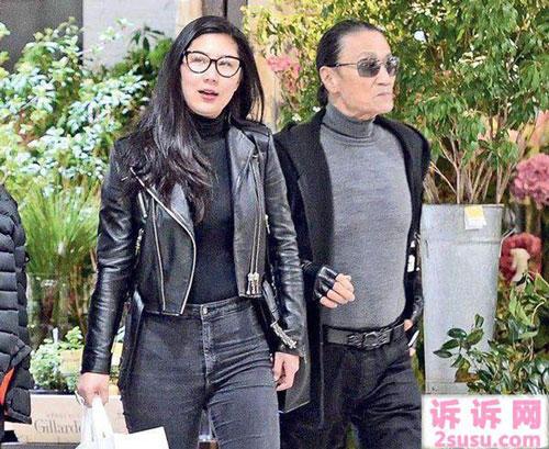 Tạ Hiền và bạn gái kém 34 tuổi, Coco, được cho là đã tái hợp.