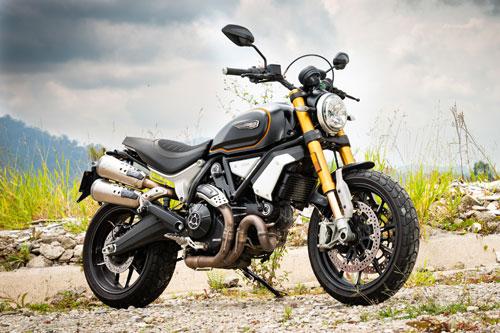 10. Ducati Scrambler 1100 Sport.
