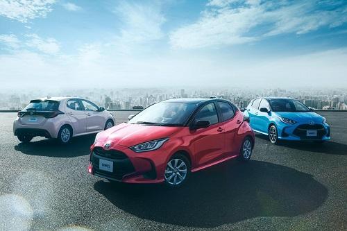 Toyota Yaris hoàn toàn mới.
