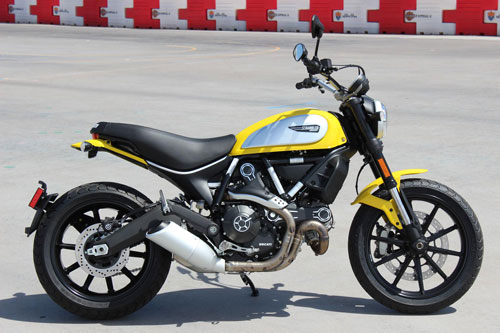 6. Ducati Scrambler Icon 62 Yellow.