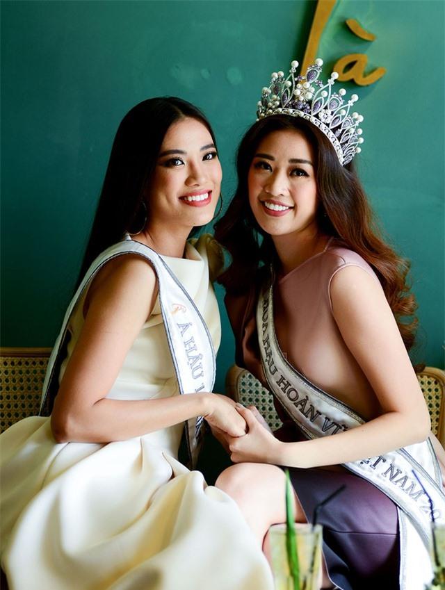 Hoa hậu Khánh Vân và Á hậu Kim Duyên nói gì về áp lực hậu đăng quang - 4