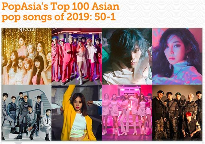 Sơn Tùng M-TP, Bích Phương, Noo Phước Thịnh lọt top 50 ca khúc nổi bật nhất Châu Á cùng TWICE, GOT7 - Ảnh 1.