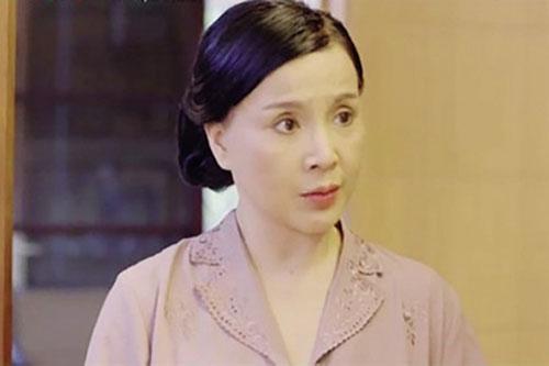 NSND Lan Hương trở lại truyền hình năm 2018 trong phim Ngược chiều nước mắt. Ảnh: TL