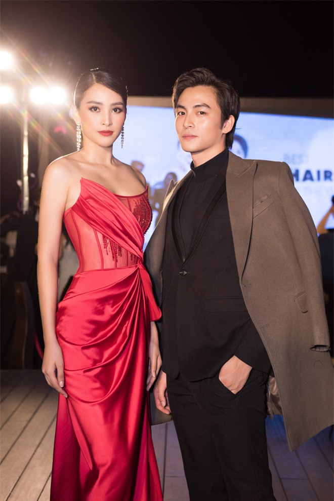 Tiểu Vy ngày càng quyến rũ, diện váy xẻ cao khoe chân dài sexy giữa bộ đôi mỹ nam Song Luân và Lãnh Thanh - Ảnh 5.