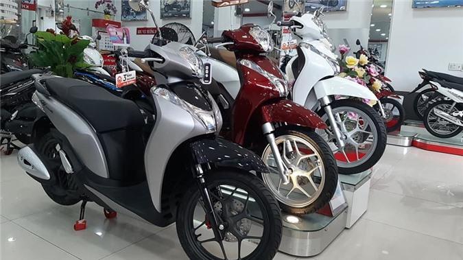 Loạt xe máy trang bị khóa thông minh Smartkey tại Việt Nam