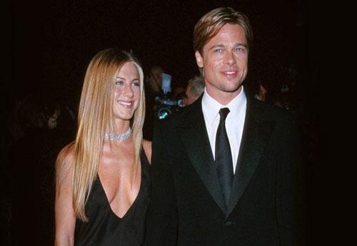 Brad Pitt và Jennifer Aniston từng là một trong những cặp đôi đẹp nhất của Hollywood. (Ảnh: People)