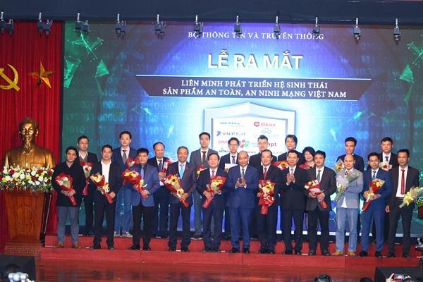 Liên minh phát triển hệ sinh thái sản phẩm an toàn, an ninh mạng Việt Nam chính thức được ra mắt sáng 28/12/2019.