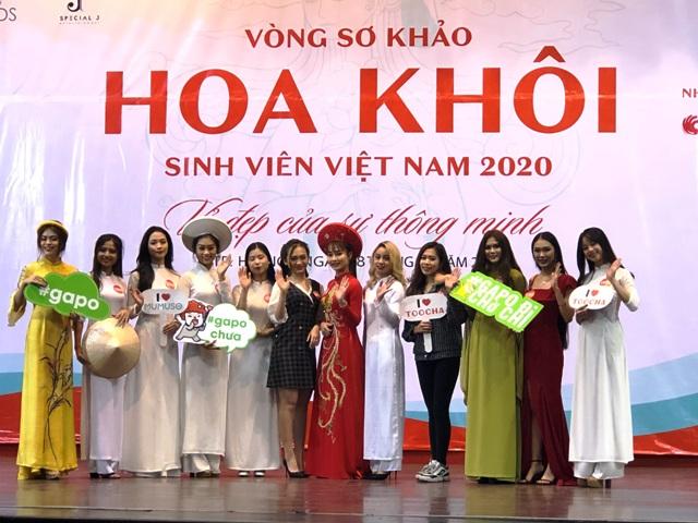 """vòng sơ khảo cuộc thi """"Hoa khôi Sinh viên Việt Nam 2020"""""""