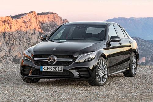 =6. Mercedes-AMG C 43 2019 (thời gian tăng tốc từ 0-96 km/h: 4,5 giây).