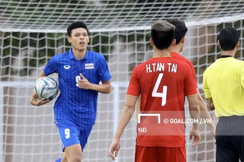 Supachai Jaided cũng là một trong những trụ cột chơi dưới khả năng của U23 Thái Lan tại SEA Games 30