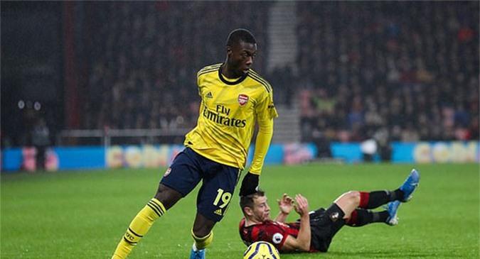 Tiền đạo tân binh Nicolas Pepe chưa thể hiện được gì nhiều ở Arsenal