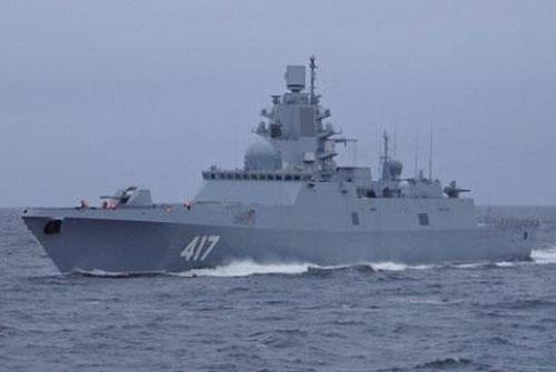 Chiến hạm Nga.